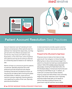 Patient Account Resolution
